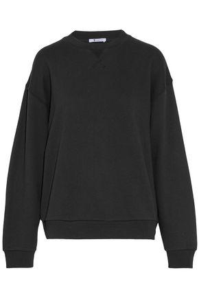 T by ALEXANDER WANG Cotton-blend jersey sweatshirt