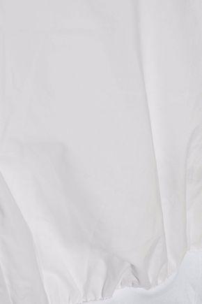 T by ALEXANDER WANG Cotton-poplin bodysuit
