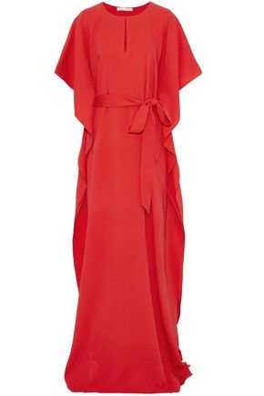 WOMAN GOWNS TOMATO RED