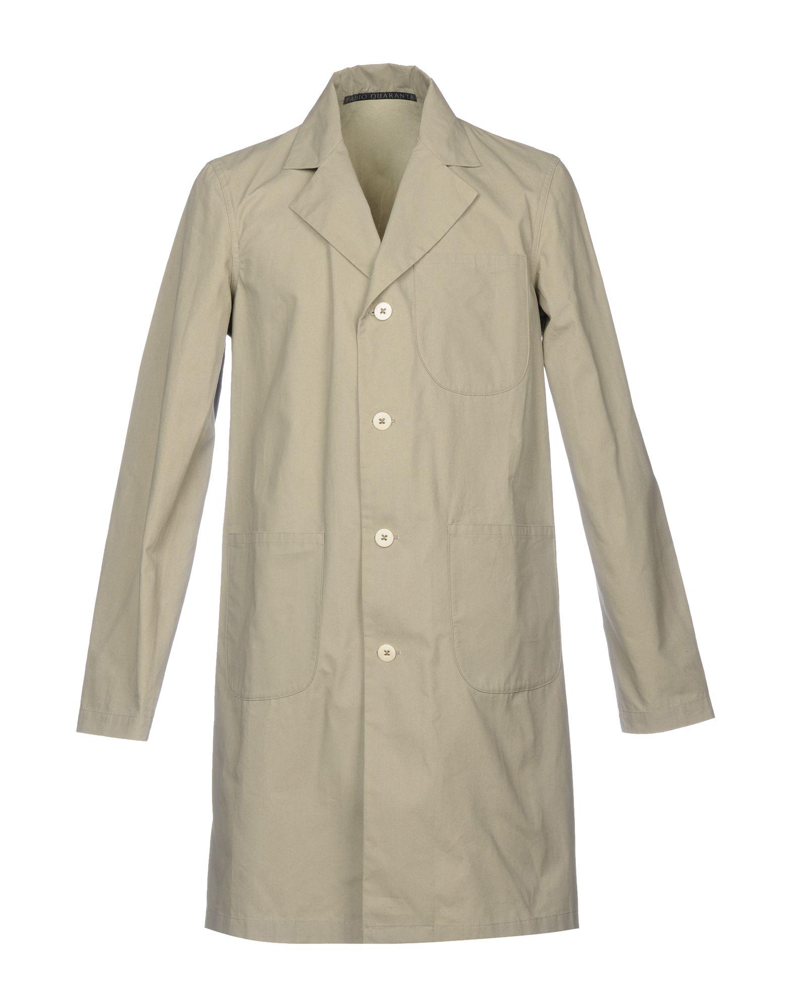 FABIO QUARANTA Легкое пальто рюкзак fabio bruno fabio bruno fa044bwampt0