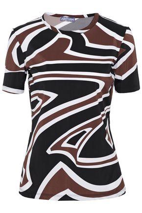 EMILIO PUCCI Printed stretch-jersey T-shirt
