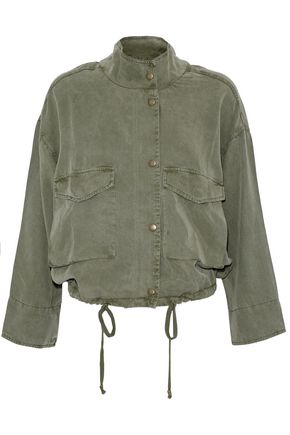SPLENDID Washed-twill jacket
