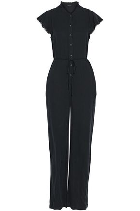 SPLENDID Frayed gauze jumpsuit