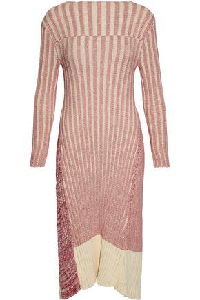 RAOUL Paneled cotton dress
