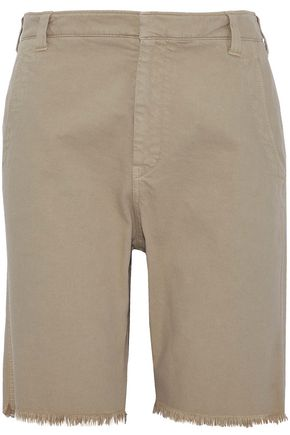 BRUNELLO CUCINELLI Frayed denim shorts