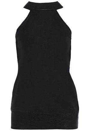 RTA Coated cotton-terry top