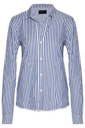 RTA Striped cotton-poplin shirt