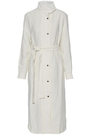 J.W.ANDERSON Linen midi shirt dress