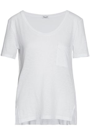 SPLENDID Slub Supima cotton and modal-blend T-shirt