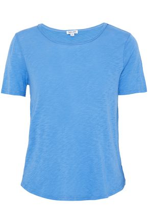 SPLENDID Wrap-effect Supima cotton and MicroModal-blend T-shirt