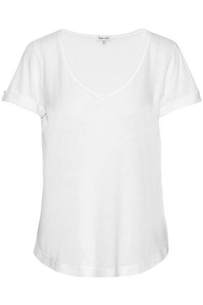 SPLENDID Slub Supima-cotton T-shirt