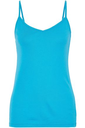 SPLENDID Supima cotton and modal-blend camisole