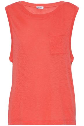 SPLENDID Slub cotton and modal-blend jersey top