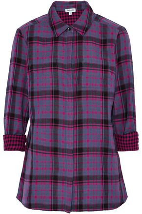 SPLENDID Checked cotton shirt