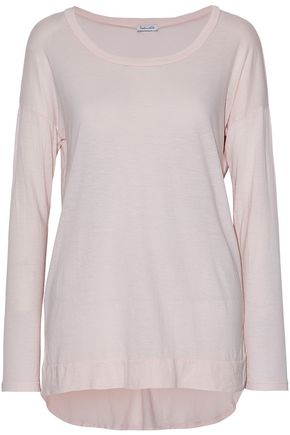 SPLENDID Slub Supima cotton and modal-blend jersey top