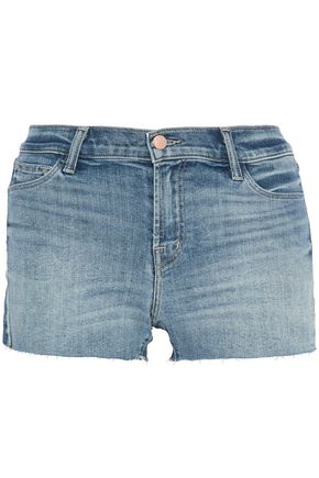 J BRAND Faded denim shorts