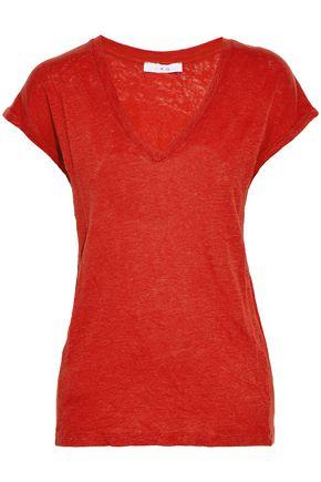 IRO Slub linen-jersey T-shirt