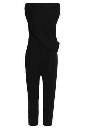 McQ Alexander McQueen Draped crepe jumpsuit