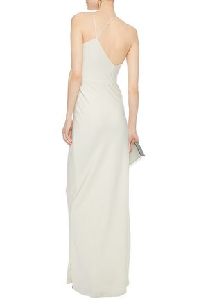 821ef6cd5ab1 ... JASON WU Asymmetric satin-crepe gown