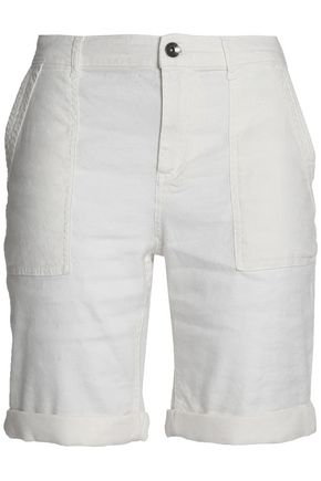 SPLENDID Linen-blend shorts