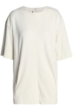 MARNI Ribbed cotton-jersey T-shirt