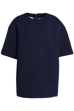 MARNI Cotton-blend jersey top