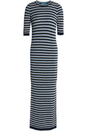 M.I.H JEANS Striped merino wool maxi dress