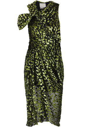 JASON WU Fil coupé silk-blend chiffon midi dress