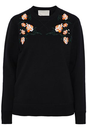 JASON WU Embroidered wool-blend sweater