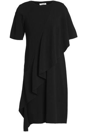 OPENING CEREMONY Layered ruffled stretch-ponte dress
