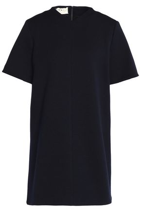 MARNI Stretch wool-blend ponte mini dress