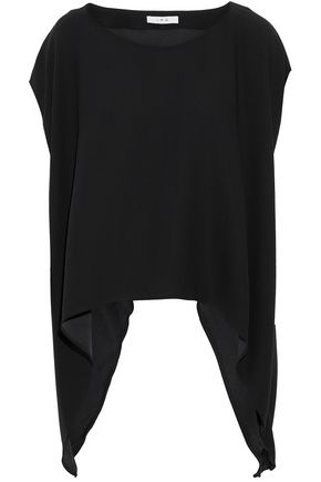 IRO Draped crepe top