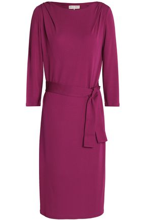 EMILIO PUCCI Belted crepe dress