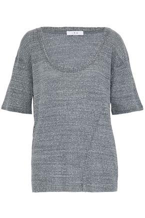 IRO Mélange ribbed-knit top