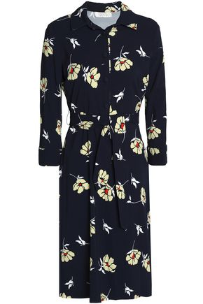 GOAT Printed crepe dress