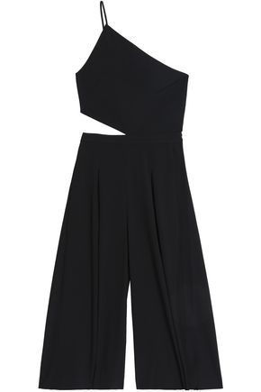 MICHELLE MASON Cropped cutout jumpsuit