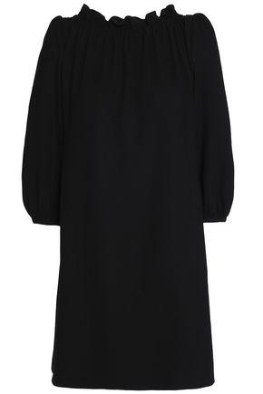 GOAT Ruffle-trimmed wool-blend crepe mini dress