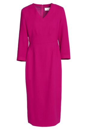 GOAT Wool-crepe midi dress