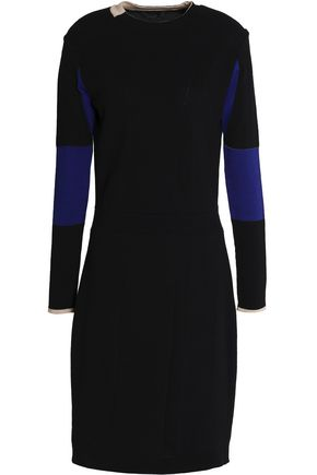BELSTAFF Two-tone ponte dress