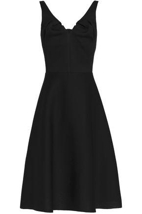 CHALAYAN Flared modal-scuba dress