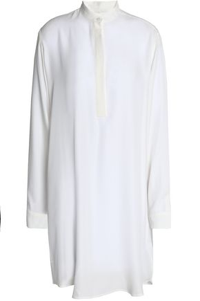 AMANDA WAKELEY Silk crepe de chine shirt dress