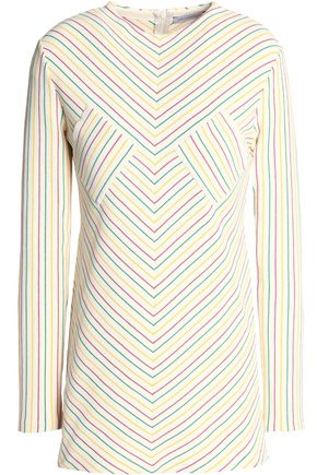 J.W.ANDERSON Striped cotton top