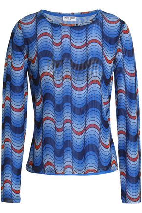 OPENING CEREMONY Printed mesh top