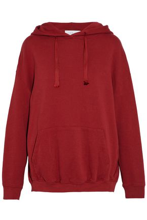 IRO Ivy French cotton-terry hoodie