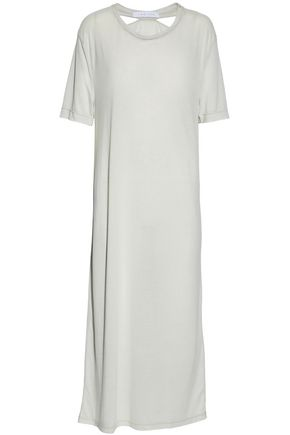 IRO.JEANS Cutout jersey maxi dress