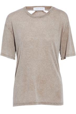 IRO.JEANS Cutout jersey T-shirt
