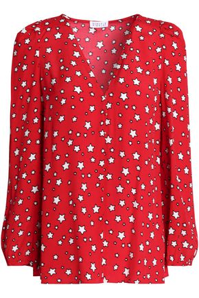 CLAUDIE PIERLOT Printed crepe de chine top