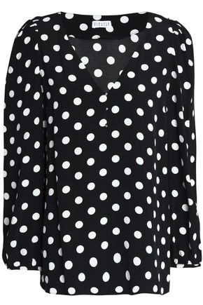 CLAUDIE PIERLOT Printed crepe top