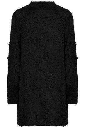 IRO Ruffled fil coupé mini dress