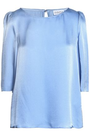 CLAUDIE PIERLOT Satin-faille blouse